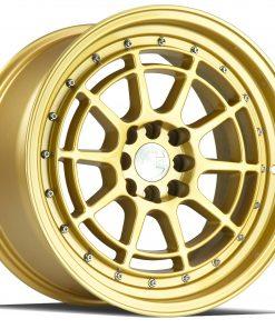 AH04 AH04 16X8 4X100/114.3 Gold