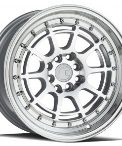 AH04 AH04 16X8 4X100/114.3 Silver Machined