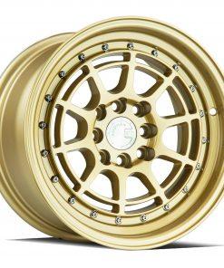 AH04 AH04 17X9 4X100/114.3 Gold