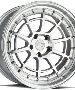 AH04 AH04 18X10.5 5X120 Silver Machined