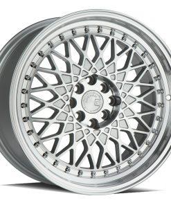 AH05 AH05 17X9 4X100/114.3 Silver Machined