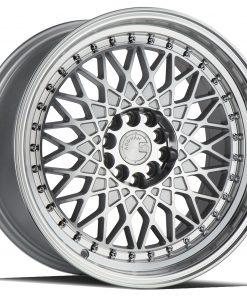 AH05 AH05 17X9 5X100/114.3 Silver Machined