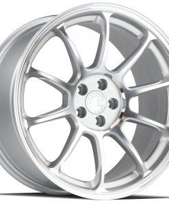 AH06 AH06 18X10 5X114.3 Silver Machined