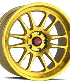 AH07 AH07 18X8.5 5X114.3 Machined Gold