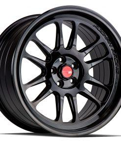 AH07 AH07 18X9.5 5X114.3 Gloss Black