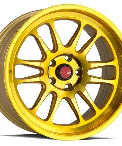 AH07 AH07 18X9.5 5X114.3 Machined Gold