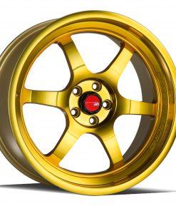 AH08 AH08 18X8.5 5X114.3 Machined Gold