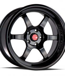AH08 AH08 18X9.5 5X114.3 Gloss Black