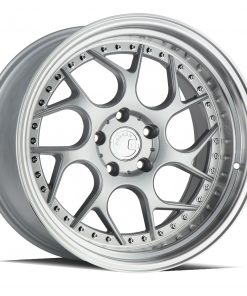 DS01 DS01 18X10.5 5X114.3 Silver Machined Lip