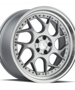 DS01 DS01 18X8.5 5X114.3 Silver Machined Lip