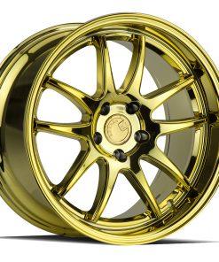 DS02 DS02 18X9.5 5X100 Gold Vacuum