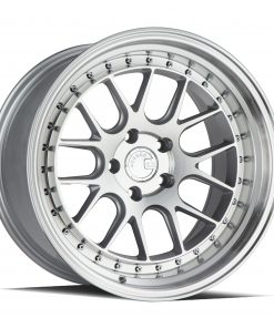 DS06 DS06 18X10.5 5X114.3 Silver Machined