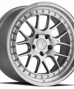 DS06 DS06 18X9.5 5X114.3 Silver Machined