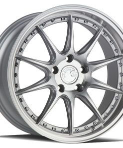 DS07 DS07 18X9.5 5X114.3 Silver Machined