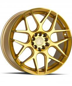 LS002 LS002 17X7.5 5X112/120 Machined Gold