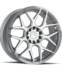 LS002 LS002 17X7.5 5X112/120 Silver Machined