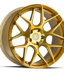 LS002 LS002 18X8 5X114.3 Machined Gold