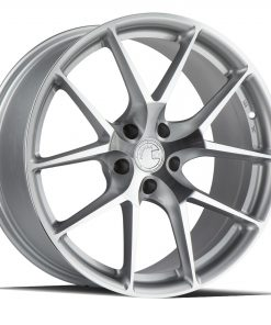 LS007 LS007 17X7.5 5X120 Silver Machined