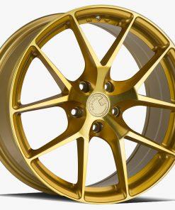 LS007 LS007 18X8 5X114.3 Machined Gold