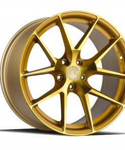 LS007 LS007 18X9 5X114.3 Machined Gold