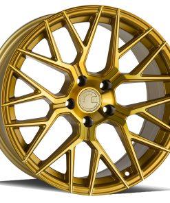 LS009 LS009 18X8 5X120 Machined Gold