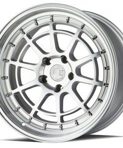 AH04 AH04 18X10.5 5X100 Silver Machined