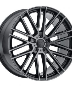 MASCHE MASCHE 22X10.5 5X112 Gloss Black Machined Black Face