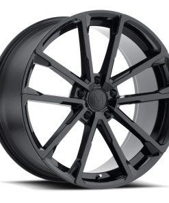 WOLF WOLF 24X10 5X130 Gloss Black