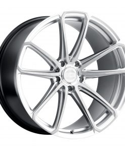 MADRID MADRID 22X11 5X130 Hyper Silver Brushed Face
